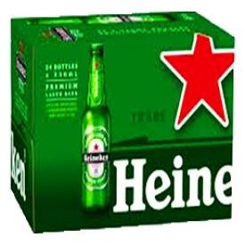 Bière Heineken 5%alc 24 Bouteilles 330 mL
