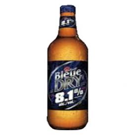Bière Labatt Bleue Dry 8.1%alc Bouteille 1.18L