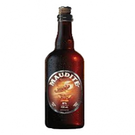 Bière Maudite 8%alc Bouteille 750 mL