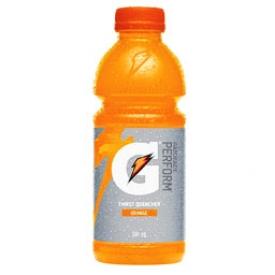 Jus Gatorade Orange Bouteille 591 mL